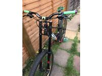 Clockwork 120 Orange Men's Downhill Mountain Bike