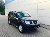 2006 06 Nissan Pathfinder 2.5 dci SVE Automatic BLACK + SAT NAV + REVERSE CAMERA