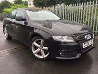 2008 AUDI A4 2.0 TDI SE FACELIFT MODEL, 92000 MILES, SUNROOF & HEATED SEATS, MOT'D JANUARY-2018