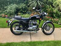 Triumph Bonneville USA spec T140V Classic. Owned for over 25 years.