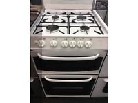 CANNON 55CM ALL GAS COOKER IN WHITE WITG LID