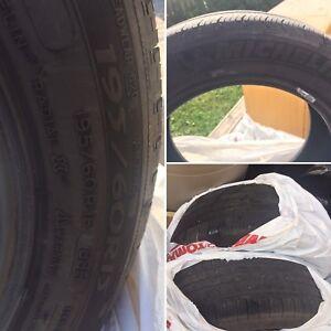 4 Good tires 195/60/r15