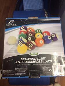 Billard set