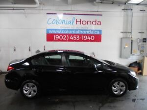 2013 Honda CIVIC LX HEATED SEATS, 2 MVI