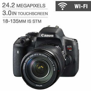 Canon EOS Rebel T6i avec 18-135 IS STM Lens