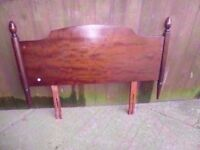 Single Wood Head Board Delivery Available