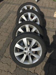 "16"" Alloy Rims and Tires"