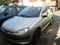 BREAKING PEUGEOT 206 X REG