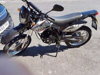 White knuckle xy125gy 63 reg 10 month test