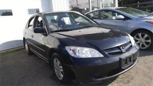 2005 Honda Civic | Certified | No Accidents | Warranty |