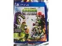 PS4 Plants vs Zombies Garden warfare