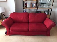 Three Seater Sofa and Armchair, FREE to anyone who can collect