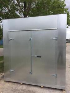 Giant Double Modular Shed 8'x 8'x 8', double door