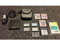 Nintendo Gameboy Advance SP Console & Games (inc. Mario Kart & Metroid II)