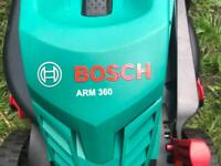 "Bosch ""Arm360"" Electric Lawn Mower"