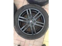 VW Transporter Sportline Classic Alloys with Tyres