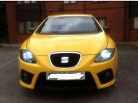 2007 SEAT LEON 2.0 FR TDI SPORT 6 SPEED 220 BHP BLACK FR ALLOYS PX SKODA VRS GOLF GTI TYPE R VXR Rs3