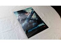 Metal Gear Rising: Revengeance Holographic Store Display *Unique item for sale*