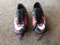 Nike mercurial CR7 size 4 football astro boots