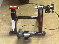 Turbo trainer static exercise bike trainer