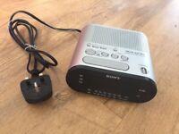 SONY radio + alarm clock for 10 pounds