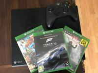 XBOX ONE WITH CONTROLLER 3 GAMES