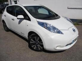2014 NISSAN LEAF TEKNA ELECTRIC HATCHBACK ELECTRICITY
