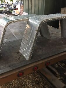 Aluminum. trailer fender.s for single axle trailer
