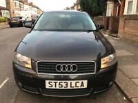 AUDI A3 2.0 TDI 6 SPEED 53 REG