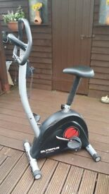 EXERCISE BIKE OLYMPUS SPORT, STURDY FRAME, ADJUSTABLE TENSION