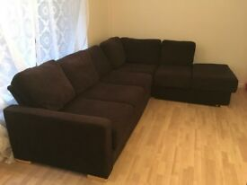 Attractive 6 seater corner sofa/ bouble sofa bed 400 ono