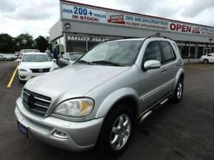 2002 Mercedes-Benz ML 500 FULLY LOADED BEING SOLD (AS IS)