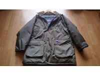 Coat mans padded waterproof coat by Aqua..