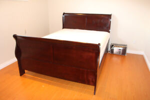 TWO QUEEN BEDS WITH MATTRESS