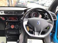 2011 Citroen DS3 1.6 VTi DStyle Plus 3dr Petrol blue Manual