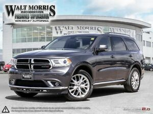 2016 DODGE DURANGO LIMITED: ACCIDENT FREE AND ONE OWNER
