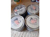 4 Cans Dulux Paint Vinyl Matt