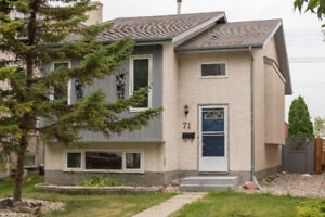 4 Bed House Near University of Manitoba and Victoria Hospital