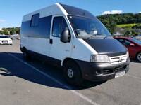 2003 CITROEN RELAY TD CAMPER, POWER STEERING,CENTRAL LOCKING,ELECTRIC WINDOWS, SLEEPS 3, 8 MONTH MOT