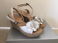 Ladies Next Sandal White