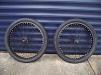 20 inch BMX BIKE WHEELS INC TYRES & INNER TUBES BRAND NEW