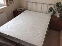 John Lewis Double Bed and/ or Mattress