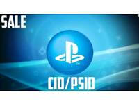 PS3 Console ID 100% Private CID/ PSID & MAC Address.