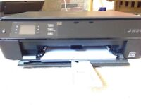HP envy 4500 with black ink