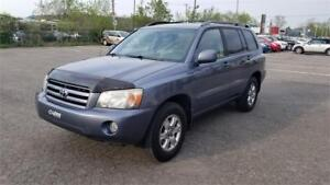 2007 Toyota Highlander Limited Edition 4x4