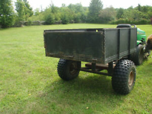 4X41/2 FOOT TRAILER FOR SALE,GREAT FOR 4 WHEELER OR LAWN TRACTOR