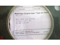 mercedes 1.8 w202 head gasket and bolts