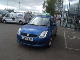 2008 08 SUZUKI SWIFT 1.3 GL 3D 92 BHP **** GUARANTEED FINANCE **** PART EX WELCOME ****