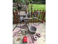 """Ridgid 300 pipe threader 110 volt 1/2""""-2"""" Tapping Machine"""