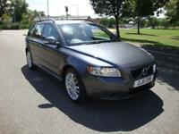 Volvo V50 2.0D D3 ( 150PS ) Geartronic SE Auto Estate, Full Leather, 47000 Miles